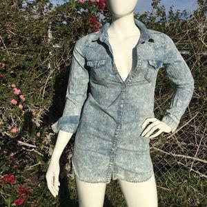 New Look- Denim Acid wash dress